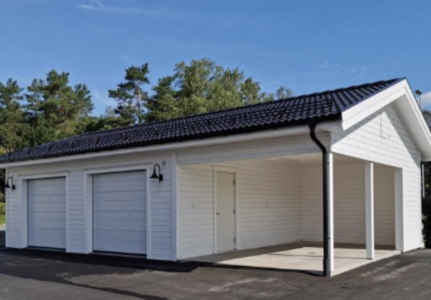 bild på ett garage