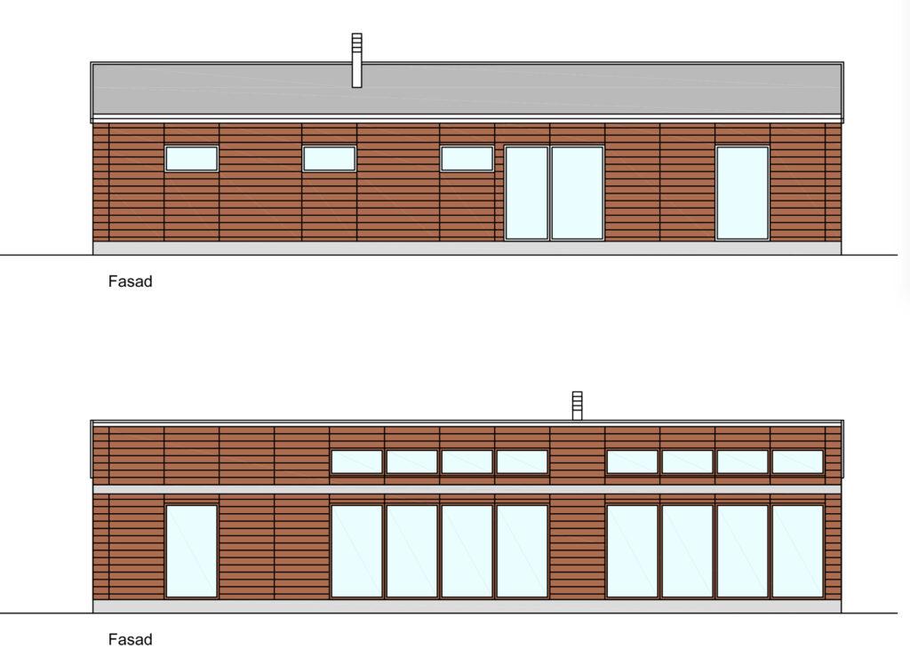 Pulpettak-Fasader