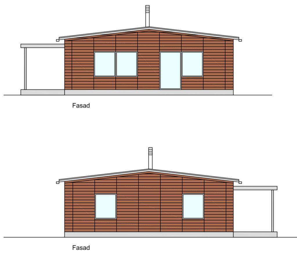 Sadeltak-Fasader-sida